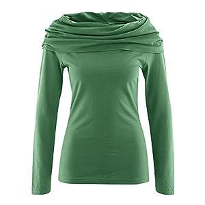 HempAge Damen Langarmshirt Bio-Baumwolle/Hanf