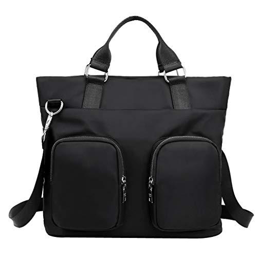 Darringls Borse Donna, Borse a Mano Borse Tote Elegante Borse Tracolla Casual Borse a Spalla Retro Multifunzione Borse in Nylon Waterproof Handbag