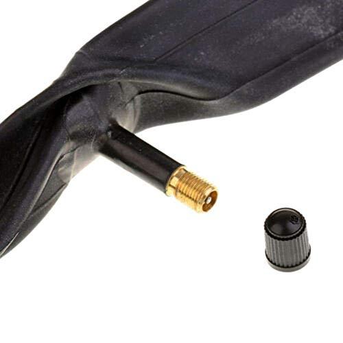 BXU-BG Durable Bike Bicycle Inner Tube 26x1 3/8 Butyl Rubber Nozzle Wheels Accessories Black
