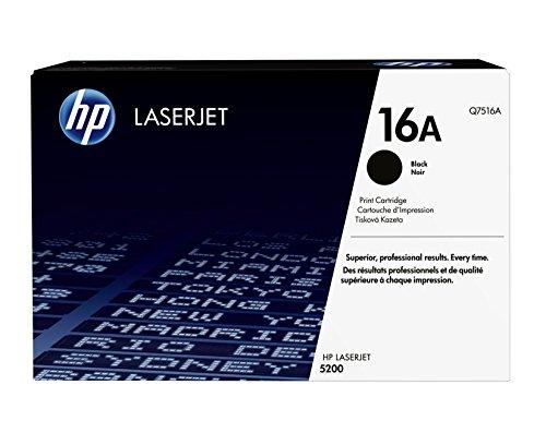 HP 16A (Q7516A) Schwarz Original Toner für HP Laserjet 5200