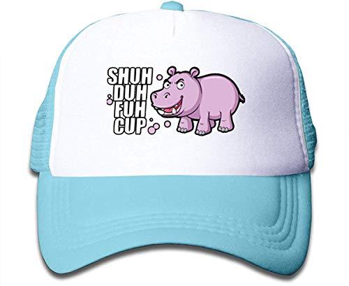 Voxpkrs Shuh Duh Fuh Cup Sun Mesh Back Cap Trucker Baseball Hat for Girl's Adjustable asdfghjklzxc10104
