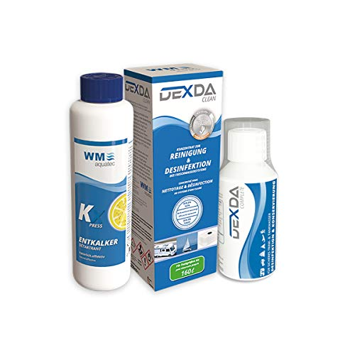 Wasserhygiene-Trio Frischwassertank (bis 160 Liter) inkl. DEXDA Complete