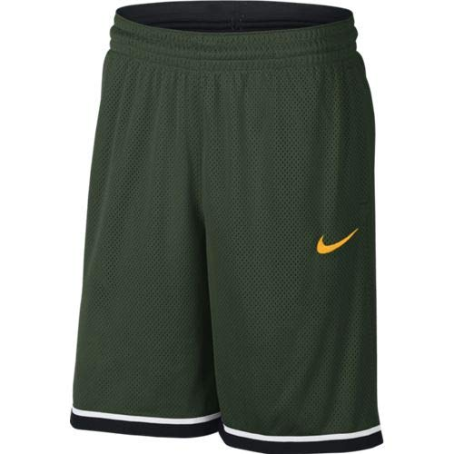 Nike Men's Dry Classic Basketball Shorts - Cosmic Bonsai/Unvrty Gld, Medium