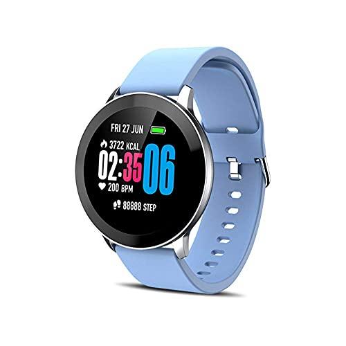 LITINGT Pulsera de fitness IP65 impermeable con monitor de sueño contador de pasos, pulsera de fitness como calorías para niños, mujeres y hombres