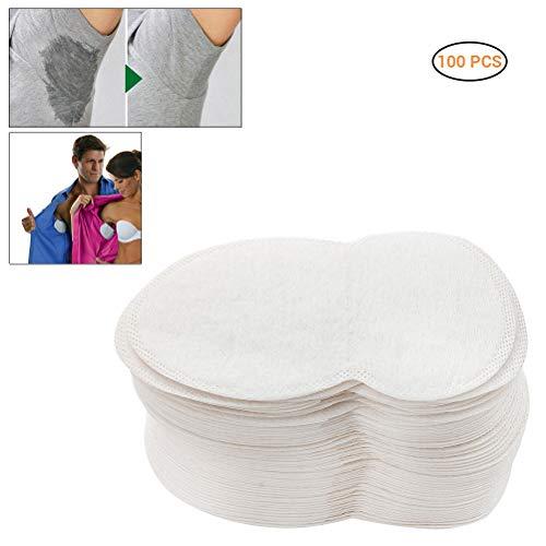 Uyuke 100PCS Underarm Sweat Pad Transparent Sweat Pad pour Hommes et Femmes