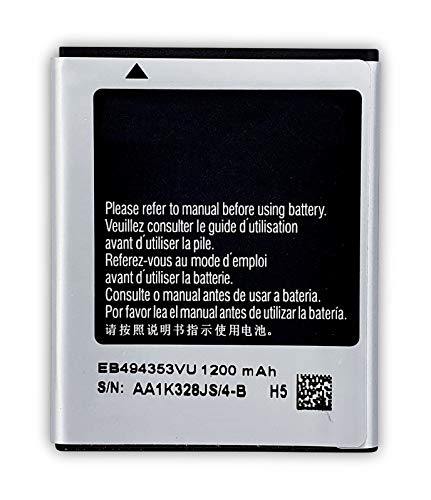 Bateria Compatible con Samsung Galaxy Mini GT-S5570 S5570i S5250 S5253 s5330 S7230 / Wave 525/S5333/ i5510 /Galaxy 551 / Callisto/ EB494353VU