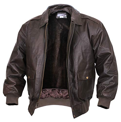 Rothco Classic A-2 Leather Flight Jacket, XL