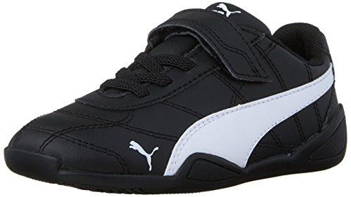 PUMA Tune Cat 3 V Inf Sneaker (Toddler), Black White, 4 M US Toddler
