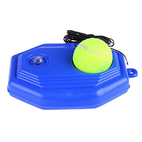 Emwel Tennis Trainer Rebound Ball Tennis Trainer Equipment Trainer Base Self-Study Practice Training Strumento di Formazione per Bambini Giocatore Principiante