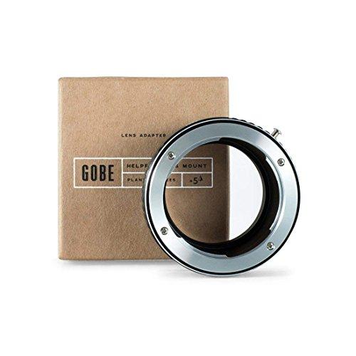 Gobe - Adattatore di montaggio lente: compatibile con lente Contax/Yashica (C/Y) e corpo fotocamera Leica M