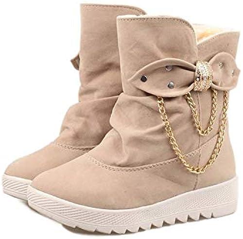 más descuento HOESCZS zapatos De mujer botas De De De