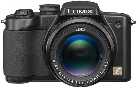 Black Panasonic Lumix DMC-FZ5K 5MP Digital Camera with 12x Image Stabilized Optical Zoom
