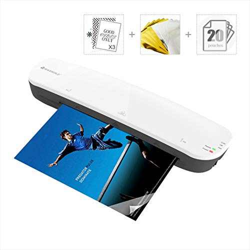 9-inch Laminator Machine Foil Application - MARIGOLD Thermal Laminating Machine with 20...