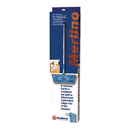 Vermeister Merlino W Oil–Mop Parquet für lackierte Böden Öl + 1lt Soap.Oil + 1lt Oil.Care