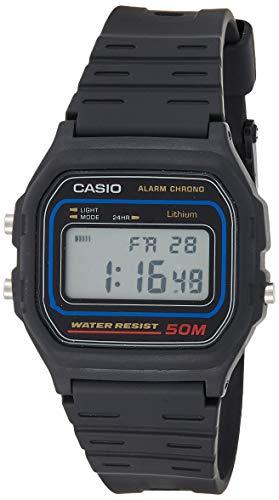 Casio Reloj Digital para Hombre de Automático con Correa en Resina W59-1V