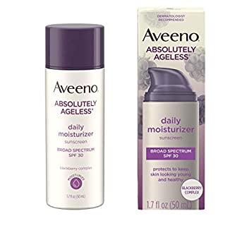 aveeno ageless daily moisturizer