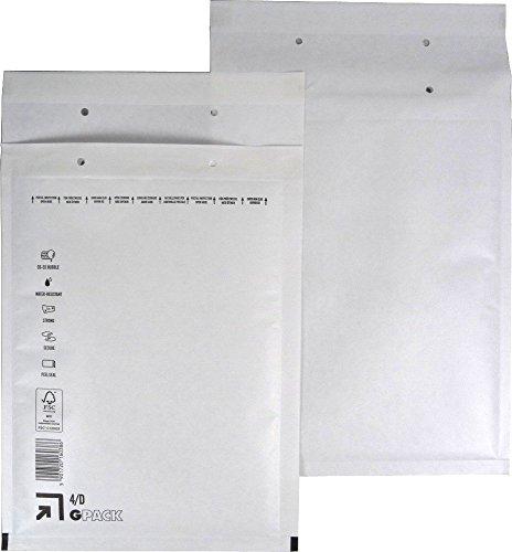 25 Luftpolsterumschlag Luftpolstertasche Versandtasche 4/D 200x275 mm