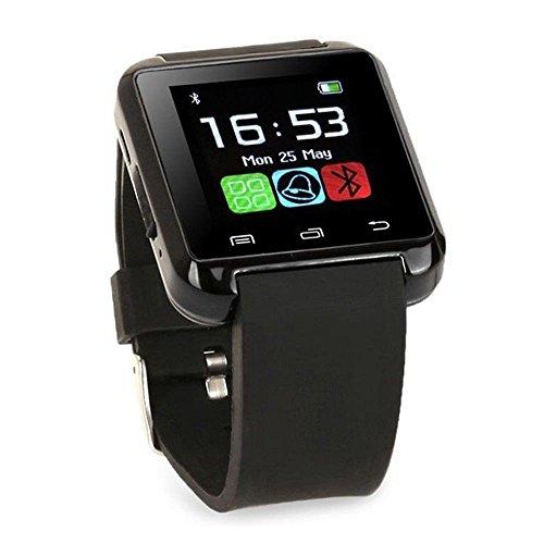 HellenHe Bluetooth 3.0 Multi-Idioma Reloj de Pulsera Inteligente Smartwatch con Pantalla táctil Compatible con teléfonos Inteligentes Android Incluye iPhone, Samsung, HTC, Sony