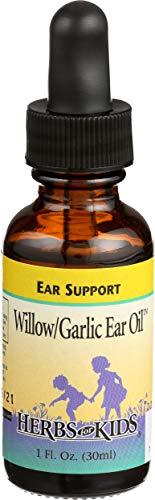 Herbs for Kids Willow/Garlic Ear Oil, Ear Support, 1 Fluid Ounces (30 ml)