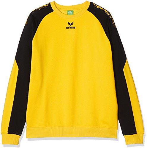 Erima Herren Graffic 5-C Baumwollsweat, gelb, XL