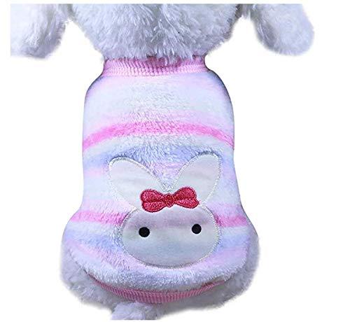 Rodman Clásico Ropa cálida para Perros Cachorro Animal Gato Ropa Suéter Chaqueta Abrigo Abrigo cálido de Invierno Suéter Suave Traje Suéter de Lana Traje para Perros pequeños