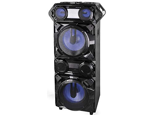 Trevi XFEST XF 4200 DJ Altavoz Amplificado con Efectos DJ, MP3, USB, Bluetooth, Aux-In, Karaoke Party Speaker con micrófono Incluido