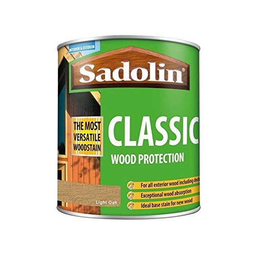 Sadolin Classic All Purpose Woodstain Light Oak 1 L