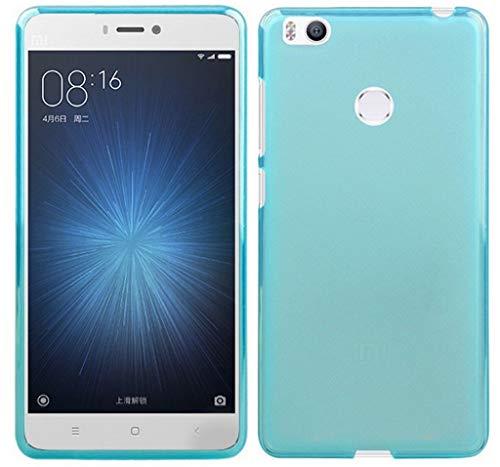 Tumundosmartphone Funda Gel TPU para XIAOMI MI 4S Color Azul