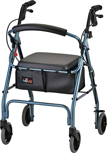 NOVA Medical Products GetGo Classic Rollator Walker