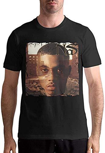 NAS It was Written Comfort Man Short-Sleeved T-Shirt S Black,Black,XX-Large