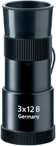 Zeiss 3X12Monokular, Farbe: Schwarz