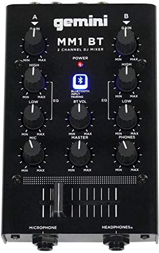 Gemini DJ audio mixer (MM1BT) Mississippi