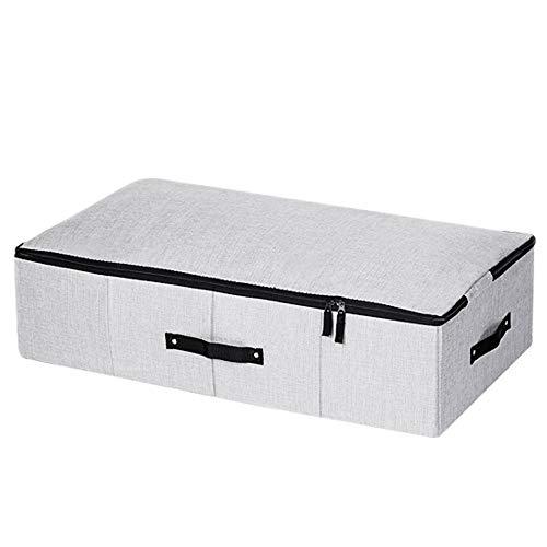Boxx Katoenen bedbodem opbergu kleding kist plat bed - onder het katoenen dekbed opbergdoos