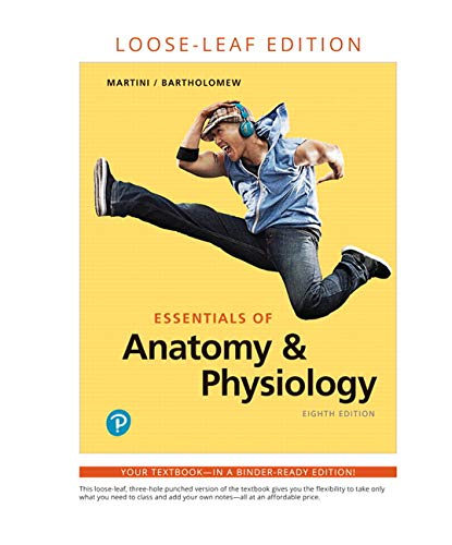 Essentials of Anatomy & Physiology, Loose-Leaf Edition Plus Mastering A&P with Pearson eText -- Access Card Package (8th
