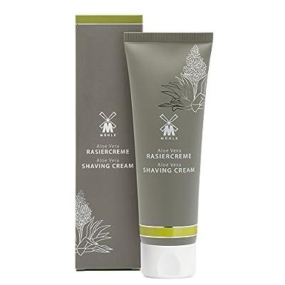 Mühle Shaving Cream Tube Skin Care Series Aloe Vera for Sensitive Skin Types