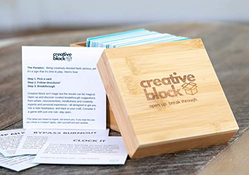 Creative Block by Breakthrough Blocks - Over 100 Brainstorming Ideas & Strategy Cards, Problem...