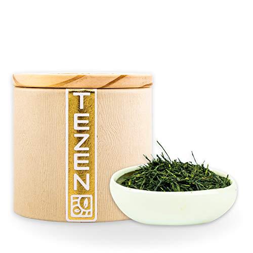 Bio Kabuse Sencha Grüner Bio Tee aus Kagoshima, Japan| Hochwertiger japanischer Bio Kabuse Sencha Tee | Premium Bio Sencha ideal als Tee Geschenk (80g)