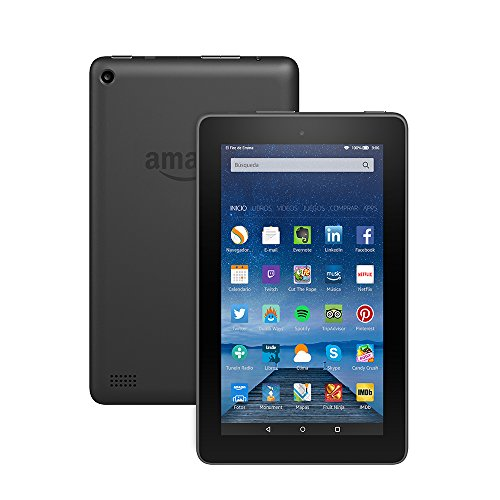 "Tablet Fire, pantalla de 7"" (17,7 cm), Wi-Fi, 8 GB (Negro) - incluye ofertas especiales"