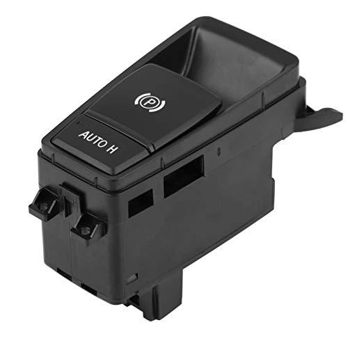 Interruptor de control de freno de mano, para E71 61319148508 ABS Negro Control de freno de estacionamiento Interruptor de control de freno de mano de estacionamiento, para BMW E70 X5