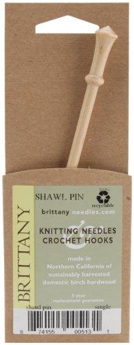 "Brittany 6"" Shawl Pin Birch 5131"