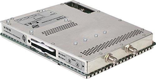 Astro Strobel Signalumsetzer 2-f.DVBC/T2 V 713 CI in 2x1PAL,für V 16 Modul für Kopfstelle 4026187161316