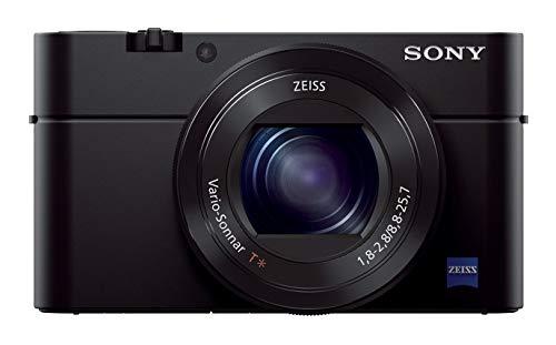 Sony RX100 III Fotocamera Digitale Compatta, Sensore da 1.0'', Ottica 24-70 mm F1.8-2.8 Zeiss, Schermo LCD Regolabile