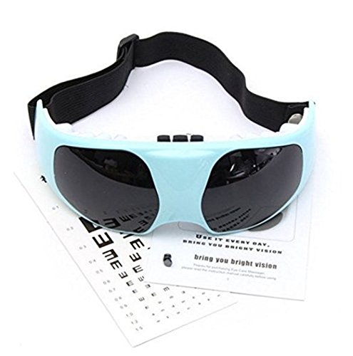 JYtop Migraine Electric Forehead Glasses Eye Care Relax Massager Eye Fatigue Stress Tension Relief