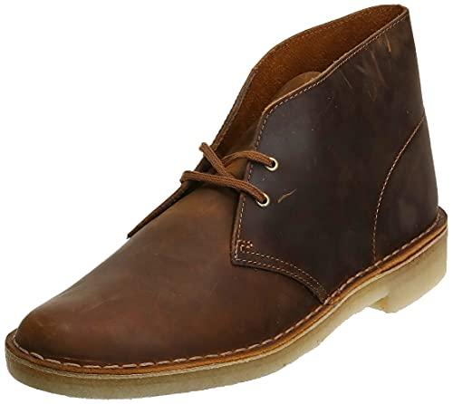 Clarks mens Desert Chukka Boot, Beeswax, 7.5 US