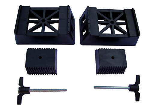 POWERTEC 71026 Plastic Sawhorse Brackets for Use with 2x4 Lumber | Kit Builds one Saw Horse, Set of 2