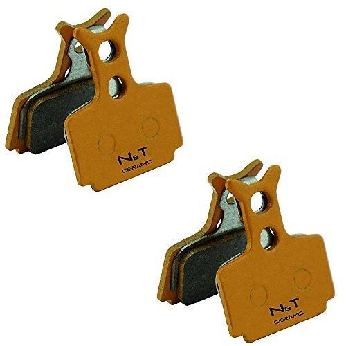 2x Noah and theo nt-bp010 / CR Cerámica Pastillas Frenos Ajustada Fórmula R1 Carreras, R1, Ro , RX, C1, CR1, CR3, T1, the Uno y MEGA