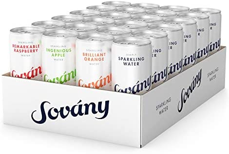 Sov ny Sparkling Water Variety Pack Sparkling with just the right amount of bubbles Fresh and product image