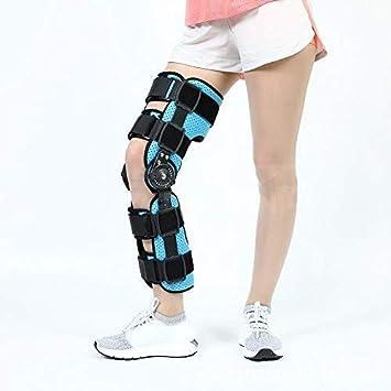 Rodilleras médicas Pedales Estaticos Bisagras rodillera, ROM de rodilla Inmovilizador pierna ortopédica aparatos ortopédicos de la rótula de la rodilla rodillera inmovilizador ayuda del apoyo de Ortes