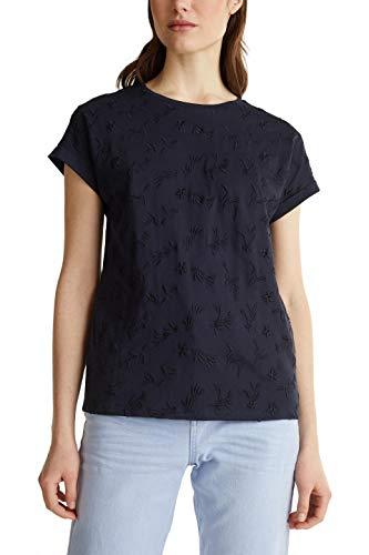 ESPRIT 030ee1k317 T-Shirt, Blu (400 / Navy), S Donna