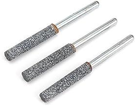 LMIAOM 3 piezas 3/16 pulgada sierra de cadena afilado de piedras de molienda conjunto Accesorios de hardware Herramientas de bricolaje